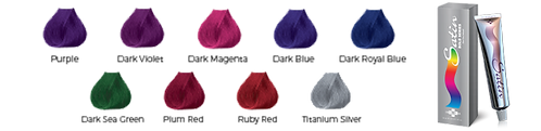 Satin Hair Color - Bold Series