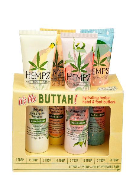 Hempz It's Like Buttah Hand & Foot Butters Gift Set