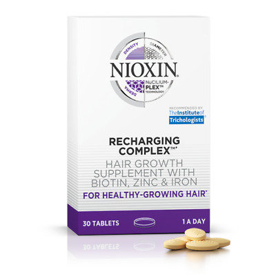 Nioxin Recharging Complex Hair Growth Vitamins