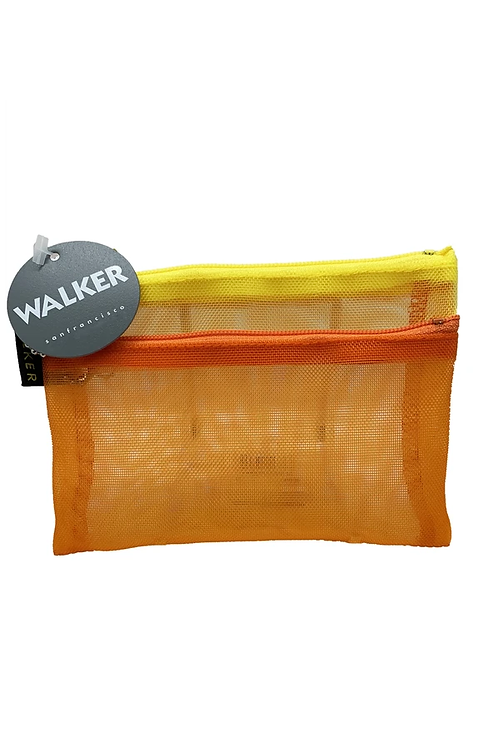 Walker Multicolor Double Zip Case