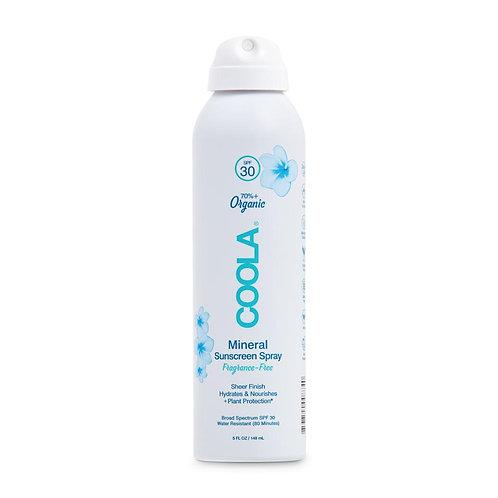 Coola Mineral Body Sunscreen Spray SPF30