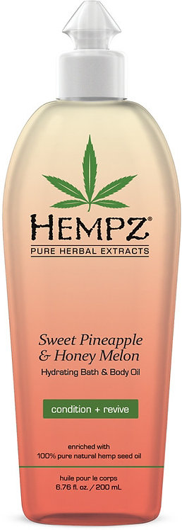 Hempz Sweet Pineapple & Honey Melon Hydrating Bath & Body Oil