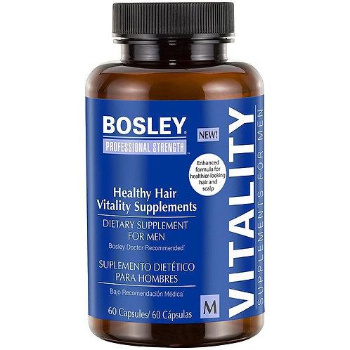 Bosley Healthy Hair Vitality Supplements for Men