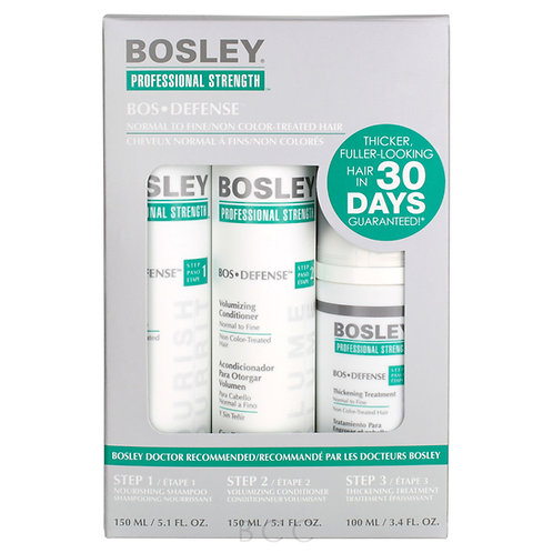 Bosley Bos Defense Kit For Non Color Treated Hair