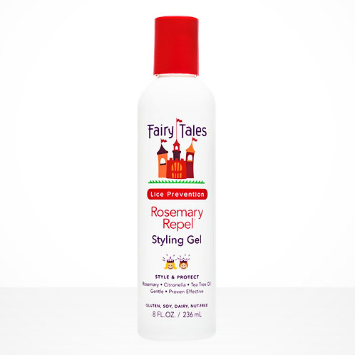 Fairy Tales Lice Prevention Rosemary Repel Styling Gel