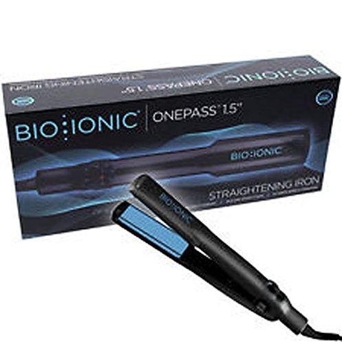 """Bio Ionic OnePass 1.5"""" Nanoionic Ceramic Flat Iron"""