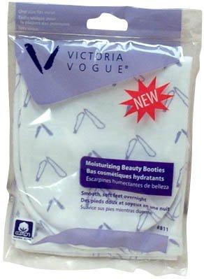 Victoria Vogue 100% Cotton Moisturizing Booties