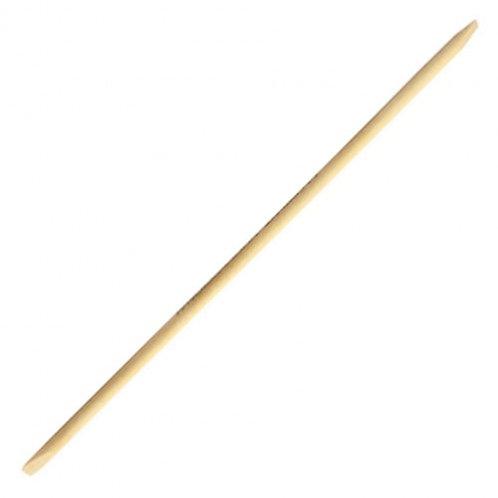 Flowery Birchwood Manicure Sticks 6''