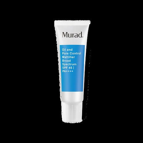 Murad Acne Control Oil & Pore Control Mattifier SPF 45