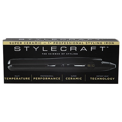 "Stylecraft 1"" Ceramic Flat Iron"