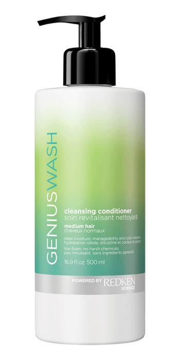 Redken Genius Wash Cleansing Conditioner For Medium Hair
