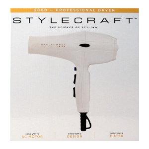 Stylecraft 2000 Hair Dryer White