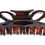 Thumbnail: DiPrima (54) Large Double Loop Clamp – Geranium