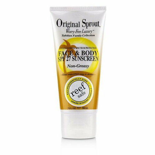 Original Sprout Face & Body SPF 27 Sunscreen