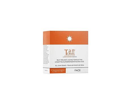 TanTowel Face Tan Towelettes