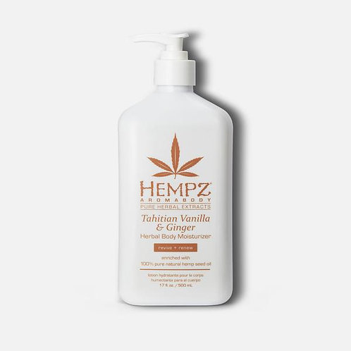 Hempz Herbal Body Moisturizer Tahitian Vanilla & Ginger