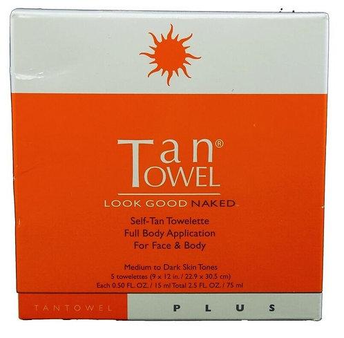TanTowel Self Tan Towelettes Plus
