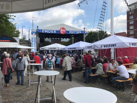 OG. Drewer II zu Gast in Emden beim Matjesmarkt