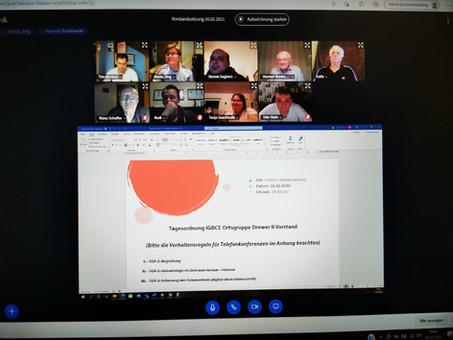 Vorstandssitzung der Ortsgruppe Drewer 2