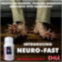 Neuro-Fast is a synergistic combination of selected herbs clinically proven to prevent and reverse the symptoms of neuropathy.  The selected ingredients in each capsule work together to offer relief from the burning, tingling sensation associated with neur