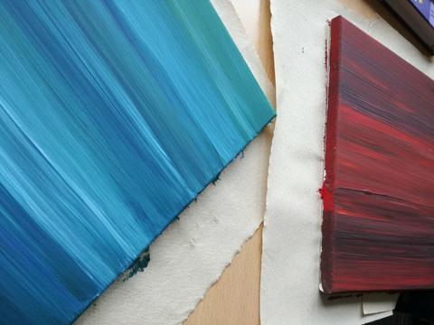 absztrakt akril festmények