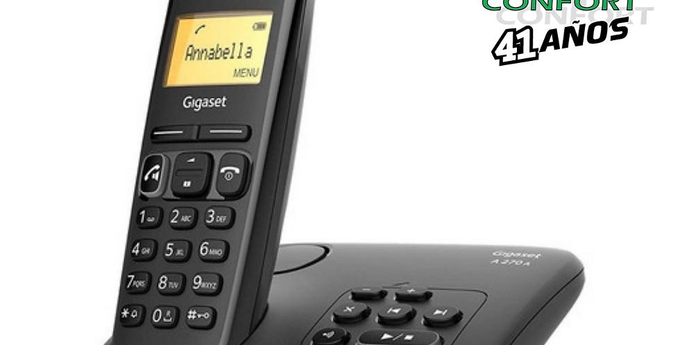 TELEFONO INALAMBRICO GIGASET A270A BLACK