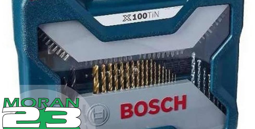 JUEGO DE MECHAS BOSCH X-LINE 100 PIEZAS