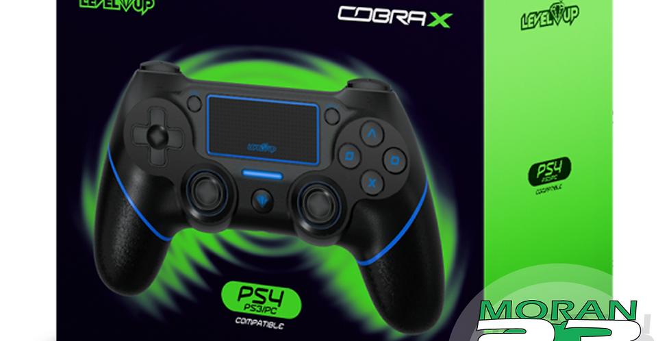 JOYSTICK COBRA X PS4 / PS3 / PC AZUL ACE GAME