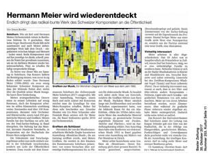 Hermann Meier wird wiederentdeckt