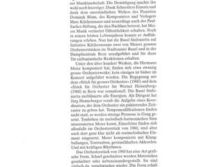 Einzigartig radikal, Neue Zürcher Zeitung