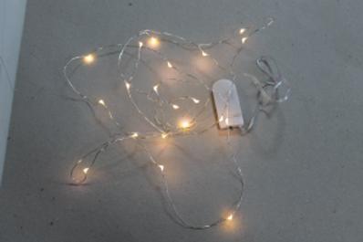 LOC138 - Guirlande Led mini à pile bouton