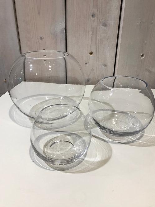 LOC018 - Centre de table Verre Boule 20cm