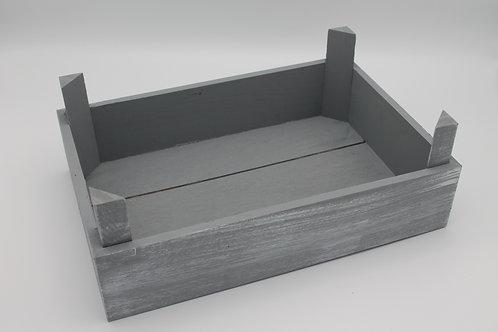 LOC126 - Caissette bois gris