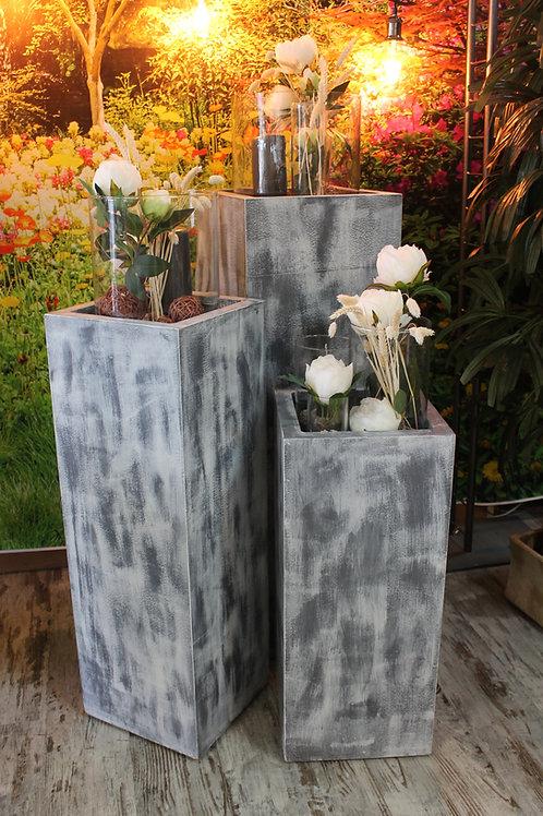 LOC092 - Ensemble 3 sellettes + verres