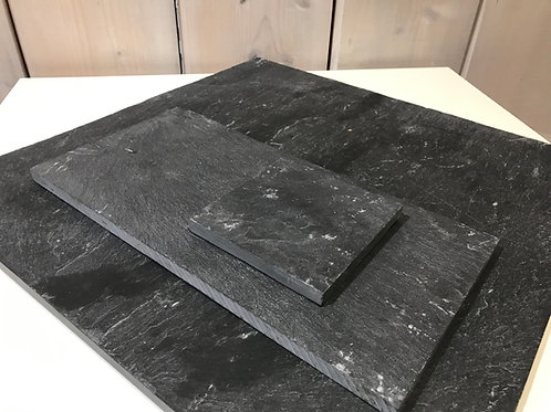 LOC038 - Centre de table Ardoise rectangle 15x30cm
