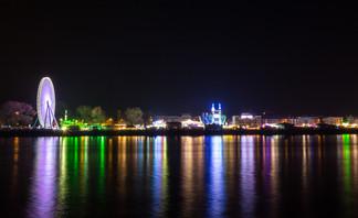 Funfair on the Rhine