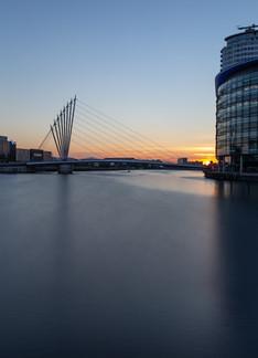 Salford Quays Sunset