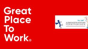 Devenez la 1ère collectivité française reconnue Great Place To Work !