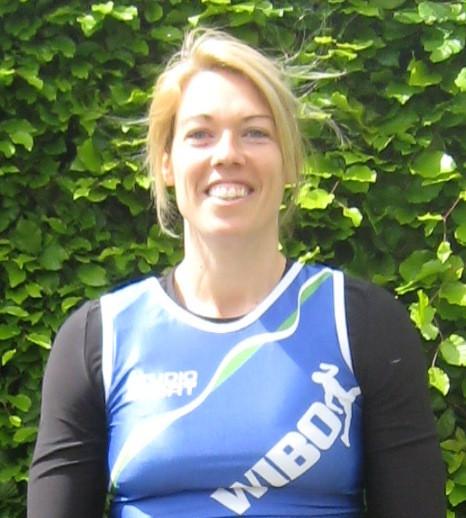 Sophie Verlinden, op één na beste Belgische kogelstootster
