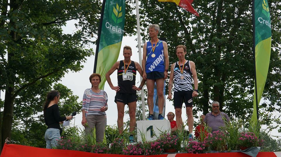 Chris Eysackers: goud op de 800m
