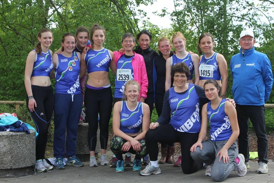 Ons enthousiaste damesteam: volgend jaar staan we er weer!