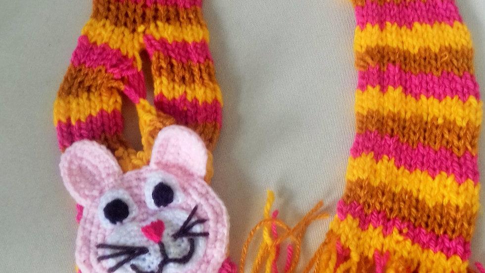 Gola cachecol gatinho