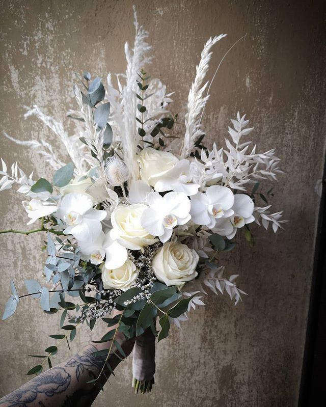 Yesterday's white wedding 💍  #brautstra
