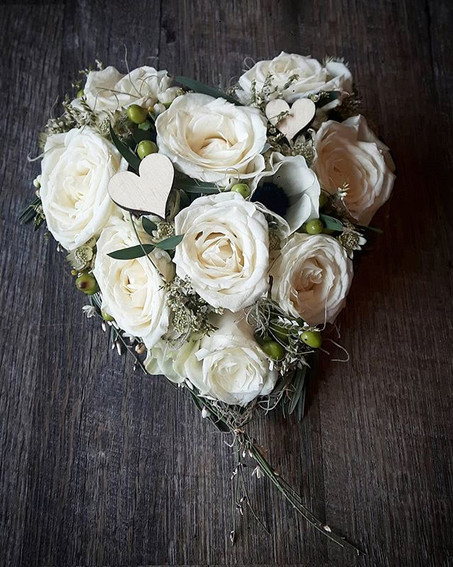 #whiteheart #flower #roses #rosen #meinh