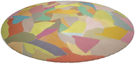 Contemporary Rug Mille Couleur