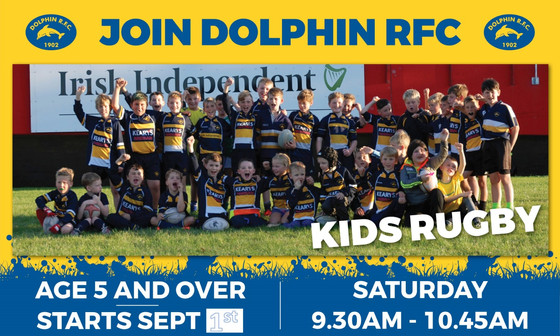 A new season is upon us, so why should your child play rugby with Dolphin RFC Minis?