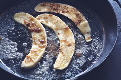 Carmelizedバナナ