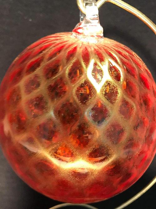 Red / Gold Balloton Ornament