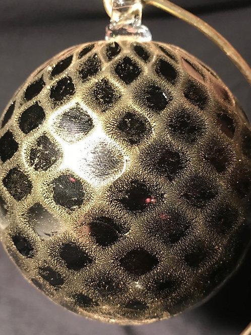Black / Gold Balloton Ornament