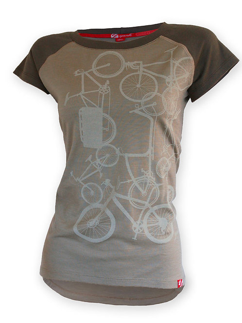 Women's Classic Forest Short Sleeve Merino Shirt